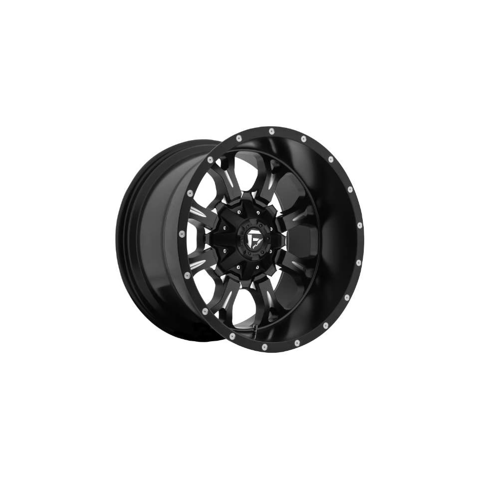Fuel Krank 20 Black Wheel / Rim 5x5 & 5x5.5 with a  44mm Offset and a 87.1 Hub Bore. Partnumber D51720205747