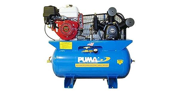 Puma compresores de aire te-8030hge Honda GX Motor, Motor de arranque eléctrico, 8 HP, 30 L depósito: Amazon.es: Amazon.es