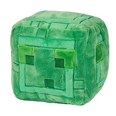 "JINX Minecraft Slime Plush Stuffed Toy (Green, 9.5"" Square)"