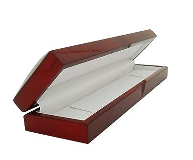 Amazon Com Cherry Wood Bracelet Gift Box Jewelry Boxes Jewelry