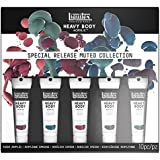 Liquitex Professional Heavy Body Acrylic Paint Set, Muted Colors (3699300)