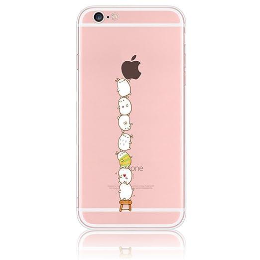 25 opinioni per Sunroyal 3D Case Cover Per Apple iphone 7 / iphone 8 (4.7 pollici) Trasparente