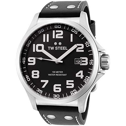 - TW Steel Unisex TW409 Pilot Black Watch