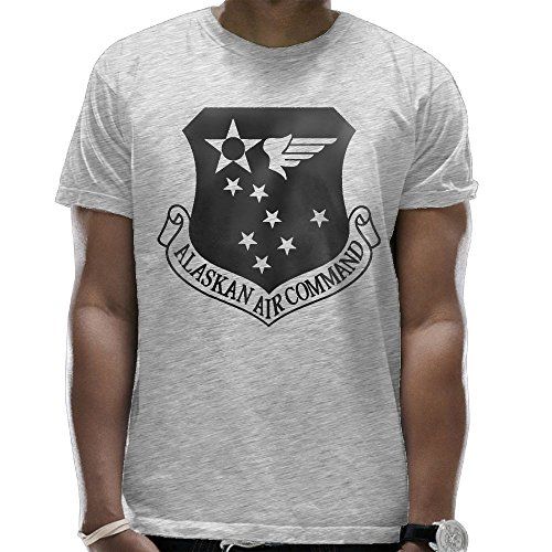 NVSHENYU Alaskan Air Command Subdued Patch T-Shirt Men's T-Shirt Battlespace T-Shirt Army T -