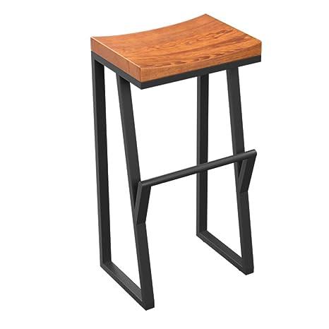 Amazon.com: Home Bar Furniture Barstool Iron Breakfast ...