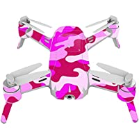 Skin For Yuneec Breeze 4K Drone – Pink Camo | MightySkins Protective, Durable, and Unique Vinyl Decal wrap cover | Easy To Apply, Remove, and Change Styles | Made in the USA