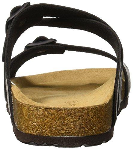 GRUNLAND Mujer Nero Playa y Nero Piscina Sara para Zapatos de Negro PFqURPA