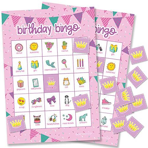(Girl Birthday Bingo Game for Kids - 24)