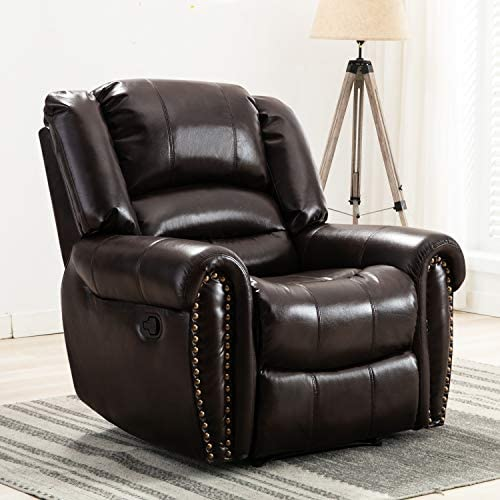 CANMOV Recliner Chair Classic and Traditional Manual Recliner Chair