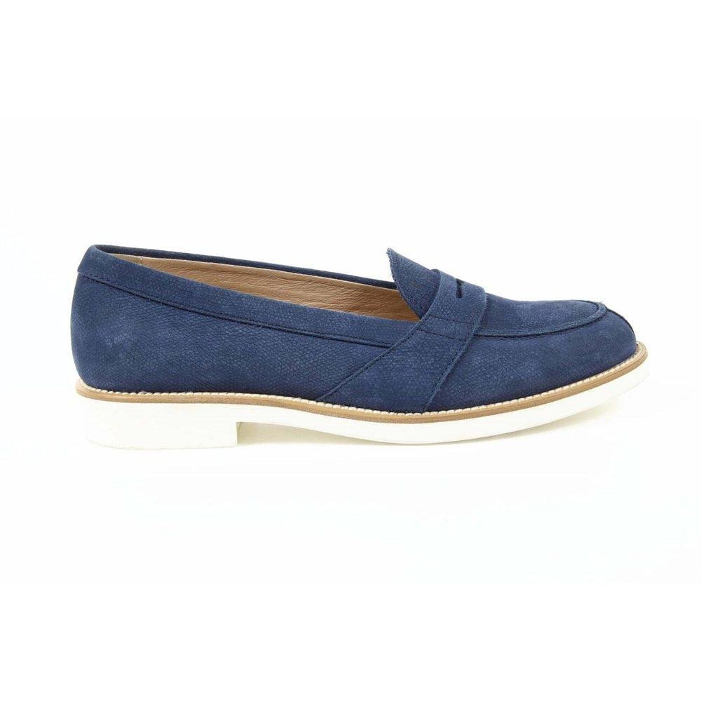 Blue 40 EUR - 9 US (267mm) Tods ladies loafer XXW0VX0L7807XWU616