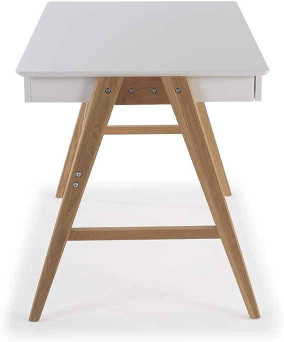 dicoro (Ofiprix Escritorio de Madera Cool, diseño nordico, Mesa de ...