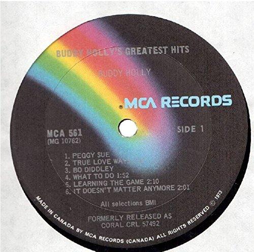 ad9e455ca71 - Buddy Holly  Greatest Hits LP VG++ Canada MCA 561 - Amazon.com Music