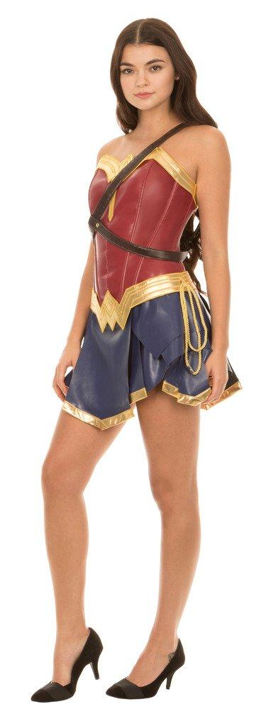 Dc Comics Wonder Woman Warrior Corset and Skirt Costume Set (Adult Medium) by Underboss (Image #2)