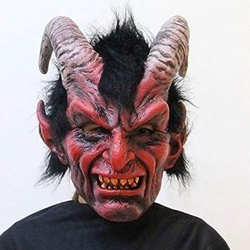 Showkig 2019 Nuevo Disfraz de Adulto for Adultos Máscara de Cuerno ...