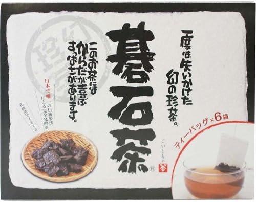 創健社 大豊の碁石茶 ティーバッグ 1.5g×6袋 ×6セット