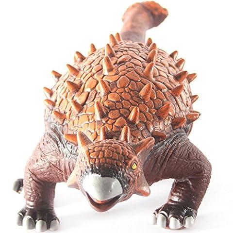 20 Inches Ankylosaurus Dinosaur Figure Jurassic Animal PVC Soft Touch - Ankylosaurus Dinosaur Toy