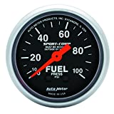 Auto Meter 3312 Sport-Comp Mechanical Fuel Pressure Gauge