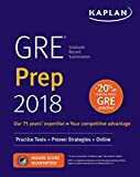 img - for GRE Prep 2018: Practice Tests + Proven Strategies + Online (Kaplan Test Prep) book / textbook / text book
