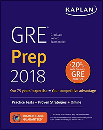 Gre Study Book >> Gre Prep 2018 Practice Tests Proven Strategies Online