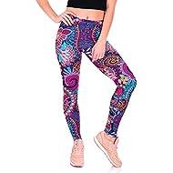 scaling❀Leggings Women❀Women Casual Printed Yoga Fitness Leggings Gym Stretch Sports Pants Trousers