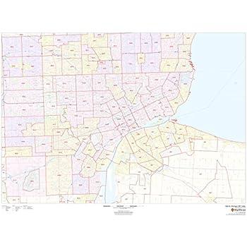Amazon.com : Detroit, Michigan Zip Codes - 48