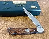 Moore Maker 5105MLB Mesquite Handle 1 Blade Lockback Knife