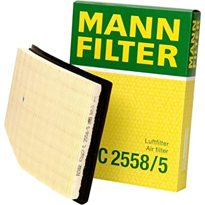 Mann-Filter C 2558/5 Air Filter: Automotive
