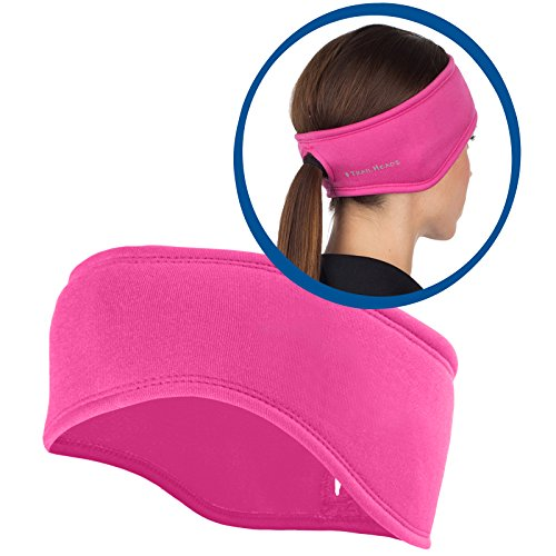 TrailHeads Women's Power Ponytail Headband - berry