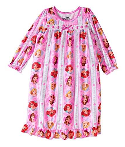 Disney Princess Toddler Flannel Granny Nightgown Pajama (4t) (Toddler Flannel Nightgown)