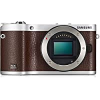 Samsung NX300M 20.3MP CMOS Smart WiFi & NFC Compact Interchangeable Lens Digital Camera 3.3 AMOLED Touch Screen (Brown) (Body Only) International Model