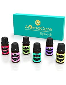 EA AromaCare Aromatherapy Essential Oils Blends Gift...