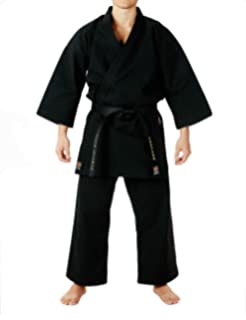 Amazon com : Kamikaze America Karate Gi Uniform White 100