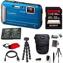 Panasonic Lumix DMC-TS30 Digital Camera (Deluxe, Blue)