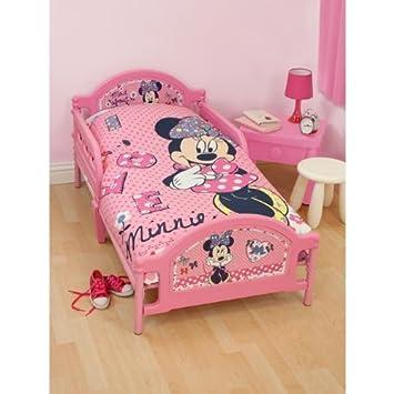 Ensemble De Literie Junior Minnie Mouse Pour Fille Lit Junior