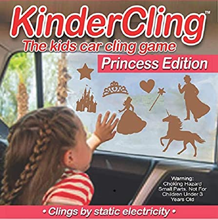 TuckVisor KinderCling Window Clings Decals Travel Games for Kids and Toddlers Farm Edition