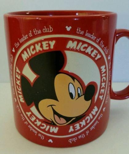 Mickey Mouse Disneyland Resort Coffee Mug Authentic Original Disney Parks Deboss