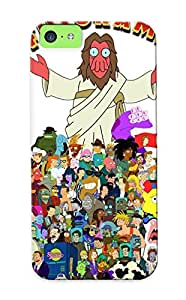 Exultantor Design High Quality Futurama Cover Case With Ellent Style For Iphone 5c(nice Gift For Christmas)