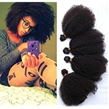 Worldflying Brazilian Virgin Hair Kinky Curly Brazilian Human Hair Extension 8-30 Inch 100g/