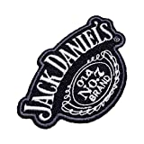 LOG390 Whiskey Vintange Worn Like Style Motorcycle Biker Vest 100% Embroidered Patch Iron or Sew Size 3.74 × 2.36 in