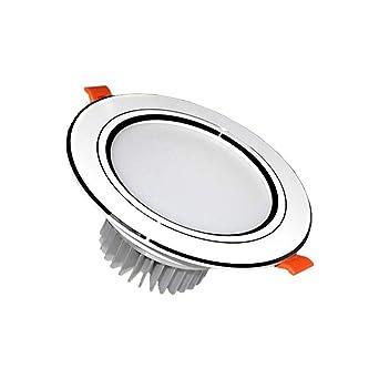 5 W LED lámpara de techo Downlight empotrado iluminación Fixture luz blanca cálida, lámpara,