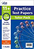 Letts 11+ Success – 11+ Mock Test Papers Tutor Pack for CEM Inc Audio Download