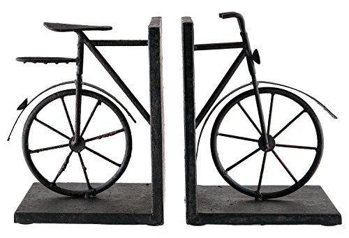 Bicycle Sterling Pair Bicycle Bookends