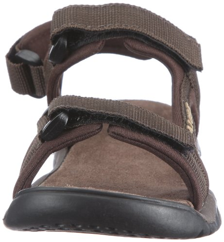 Aigle Broadstone Kid - Zapatos abiertos sin cordones, Marrón (Braun (Dark Brown)), 25 Marrón (Braun (Dark Brown))