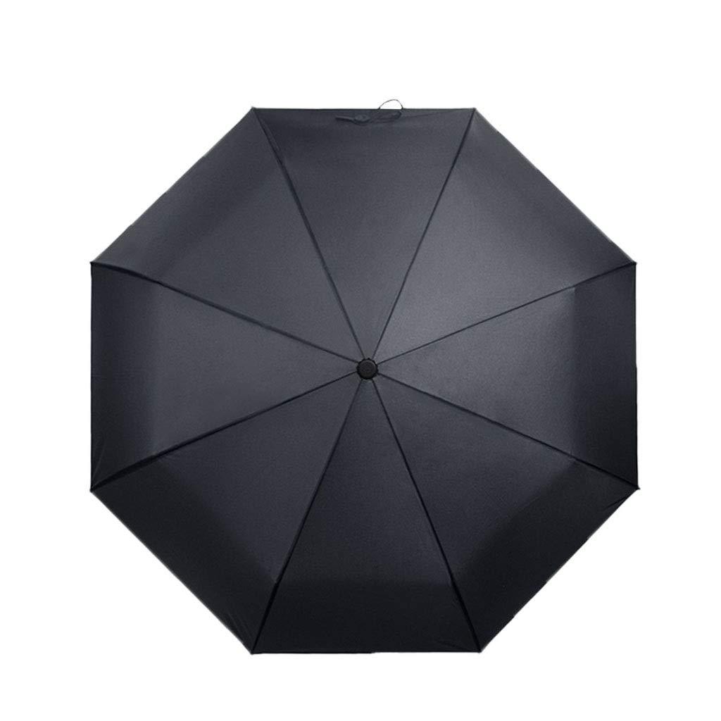 LWT 傘防風コンパクト旅行折りたたみ傘ビジネスアウトドアリブ強化ブラック37.4×22.8in B07STH5SZS