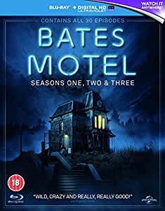 Bates Motel - Season 1-3 [Blu-ray]
