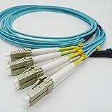 1M MPO/MTP to 8 x LC (4 Duplex) 8 Strands