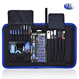 Rarlight Screwdriver Set with Magnetic Driver Kit, Professional Electronics Repair Tool Kit with Portable Oxford Bag for Laptop, iPhone, iPad, Cellphone, Watch, PC, Computer, Camera