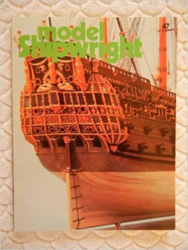 Book Model Shipwright Number 47 March 1984