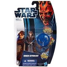 Star Wars 2012 Clone Wars Animated Action Figure CW No. 01 Anakin Skywalker (japan import)