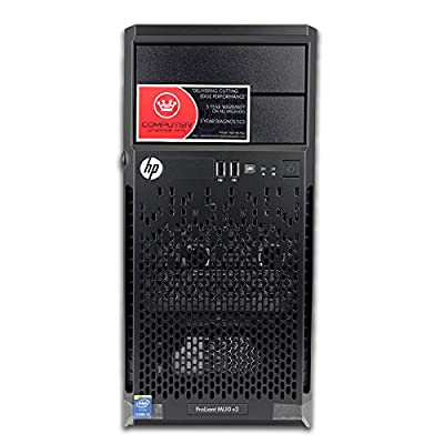 Newest 2015 HP Proliant ML10 Tower Desktop or Server Barebones DIY Computer PC with i3-4150 3.5GHz, 16GB, RAID - best cheap Business and Professional Workstation on sale for Black Friday + Christmas